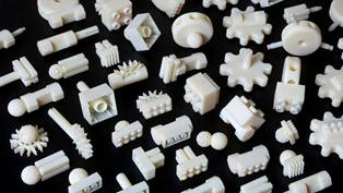 Spare parts inventory with 3D printing. Image courtesy: Engineering.com