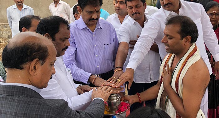 Foundation Of The Urban Micro Skill Center In Hyderabad