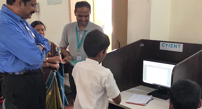 Leadership Interaction With Student Of Adopted School