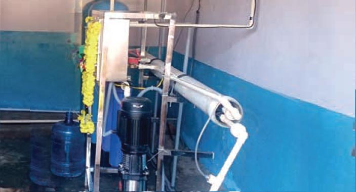 Reverse Osmosis Water Purification Plant Design For Villages