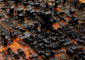 3D Cities Infrastructure Visualization