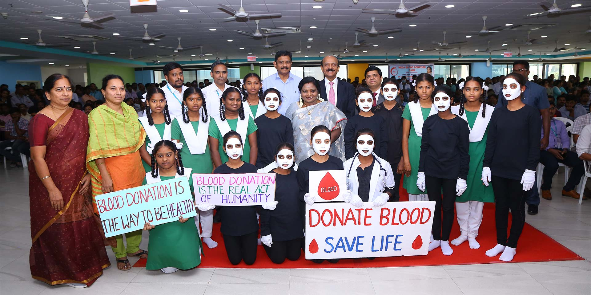 Cyient Organizes Blood Donation Drive at its Hyderabad Campus to Commemorate 100 Years of the Indian...